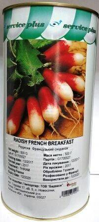 Особенности сорта редиса «французский завтрак»: описание, правила ухода и выращивания, фото, и многое другое