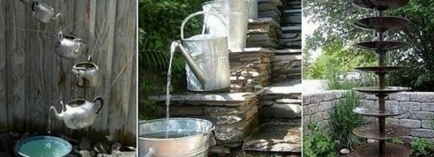 Водопад на даче своими руками – пошаговый пример возведения