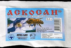 Как вылечить аскосфероз у пчел
