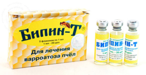 Обработка пчел от клеща осенью: лекарство для лечения варроатоза
