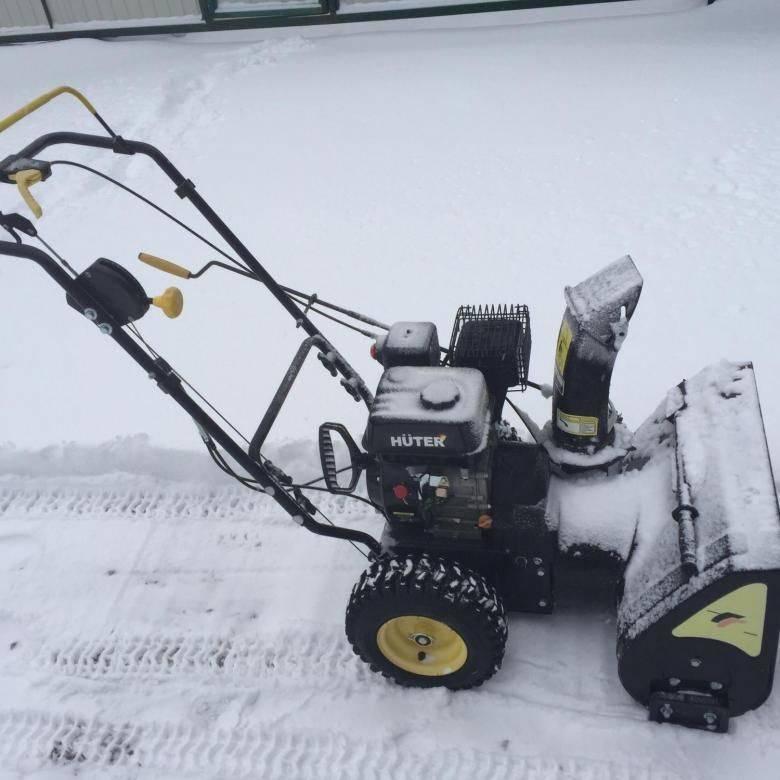 Снегоуборщик huter sgc 4000: характеристика, отзывы