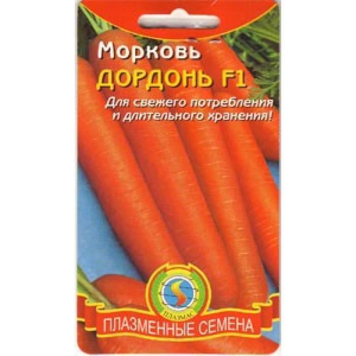 Гибридная разновидность моркови дордонь f1