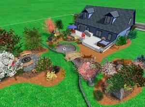 Благоустройство садового участка своими руками: фото, как построить беседку, качели, и зону отдыха
