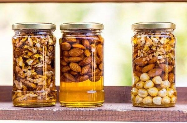 Мед и грецкие орехи – для потенции рецепт