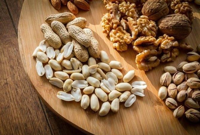 Грецкие орехи при грудном вскармливании можно ли есть кормящей маме