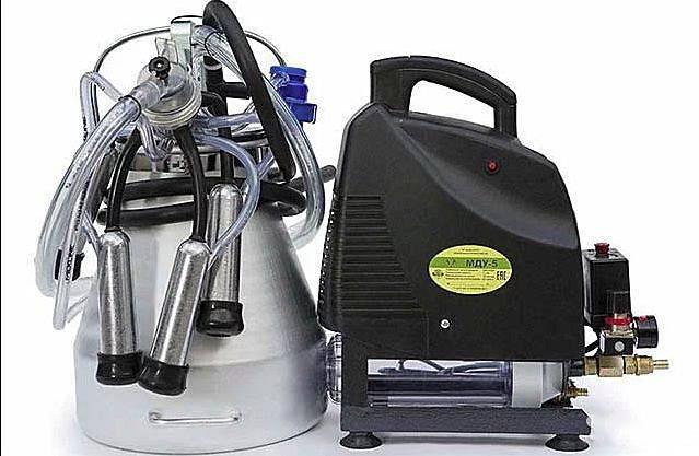 Доильный агрегат адм-8 для крупных животноводческих хозяйств