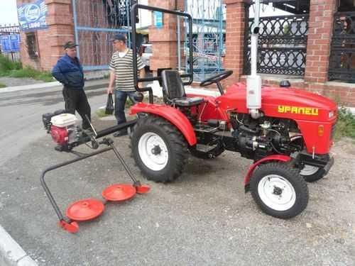 Российские мини-трактора для домашнего хозяйства