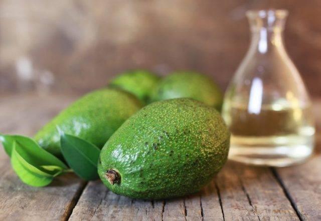 Масло авокадо для кожи лица