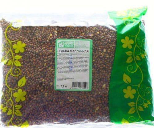 Применение редьки масличной как сидерата