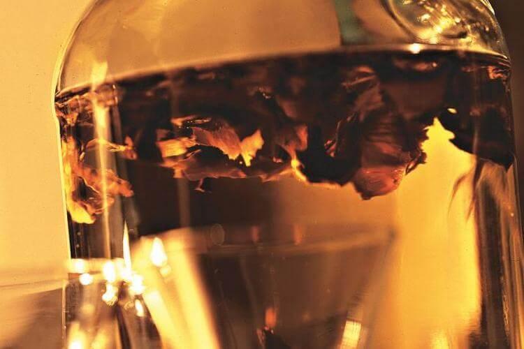 Настойка из перегородок грецкого ореха на водке, польза и вред