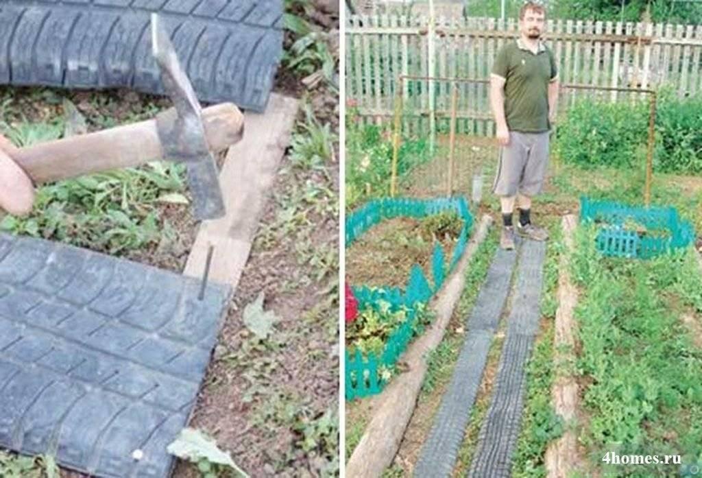 Садовые дорожки своими руками с малыми затратами ⋆ domastroika.com