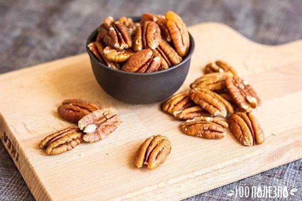 Орех пекан: полезные свойства, противопоказания, польза и вред