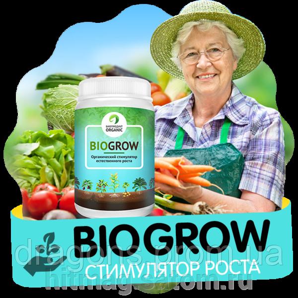 Применение биоудобрения biogrow