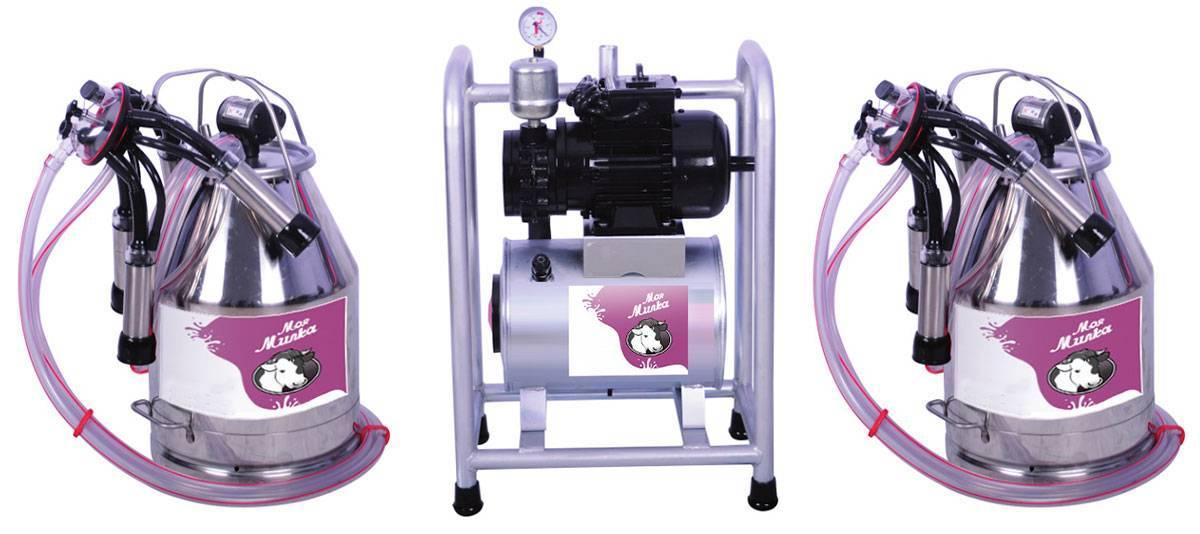 Описание популярных доильных аппаратов для коров