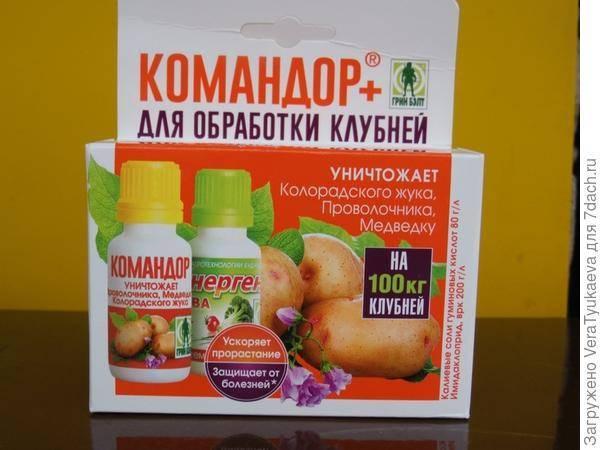 Инсектицид «командор»: инструкция по применению препарата