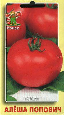 Томат алеша попович: описание и характеристики сорта, достоинства и недостатки