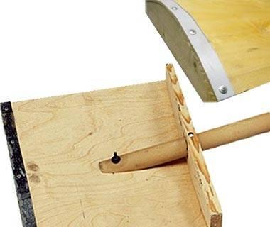 Как сделать лопату на мотоблок для уборки снега: инструкция