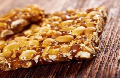Грецкие орехи в сахаре