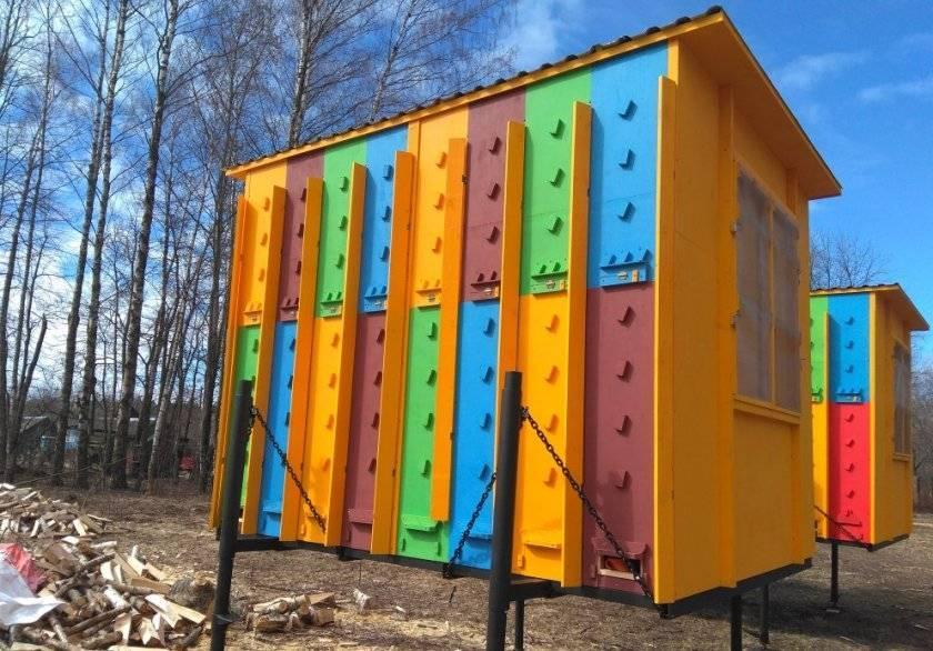 Все о кассетных пчелопавильонах: их преимущества и особенности конструкции