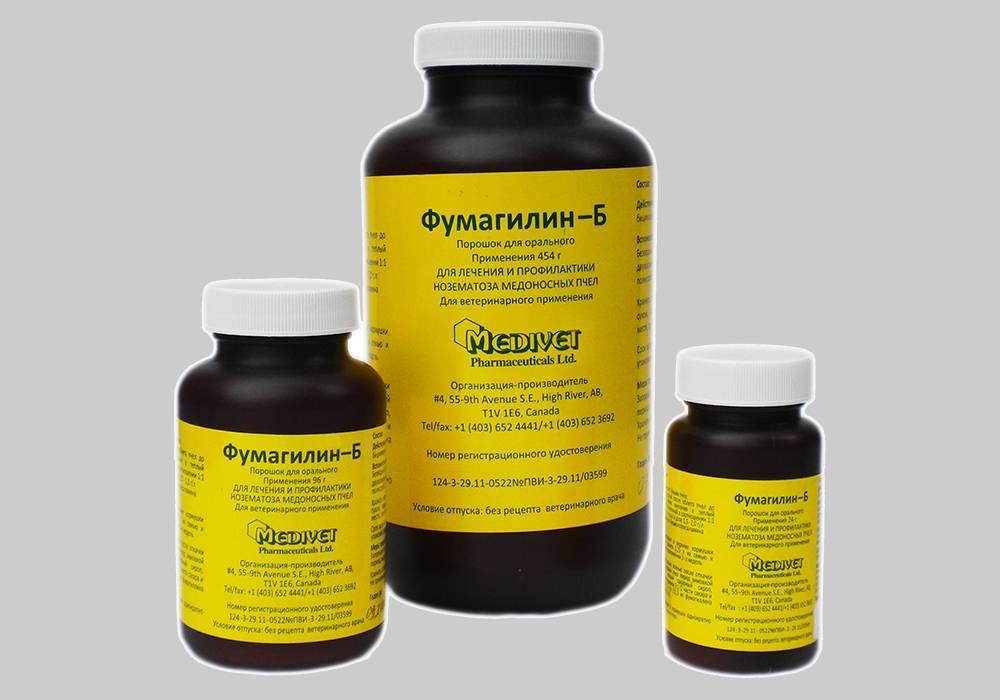 Лечение нозематоза пчел препаратом ноземацид