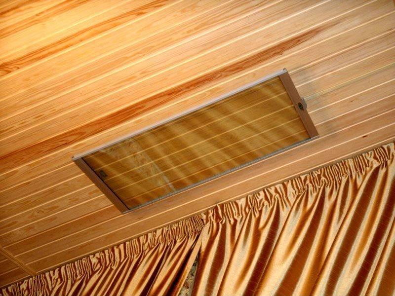 Как выбрать потолочный обогреватель для дачи