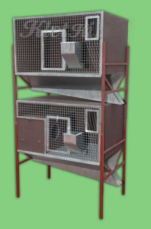 Как построить клетку для кроликов: строим правильно клетку для кроликов своими руками