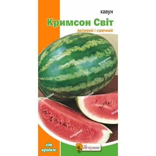Арбуз кримсон свит: характеристики сорта, выращивание и уход