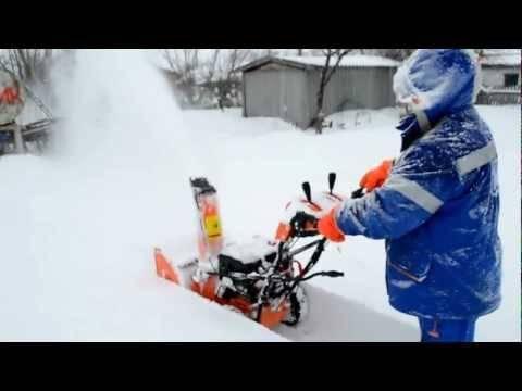 Снегоуборщик электрический prorab est 1800