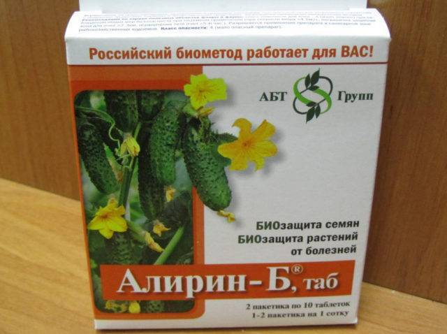 Препарат «алирин-б»: инструкция по применению фунгицида