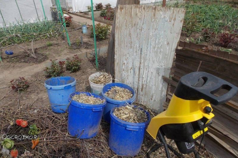 Садовый измельчитель: превращаем мусор в удобрение