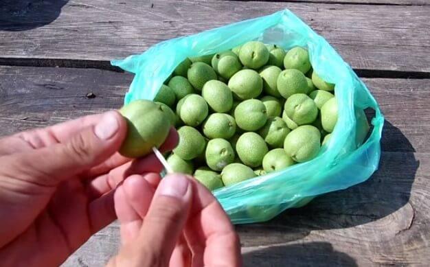 Варенье из ореха маньчжурского