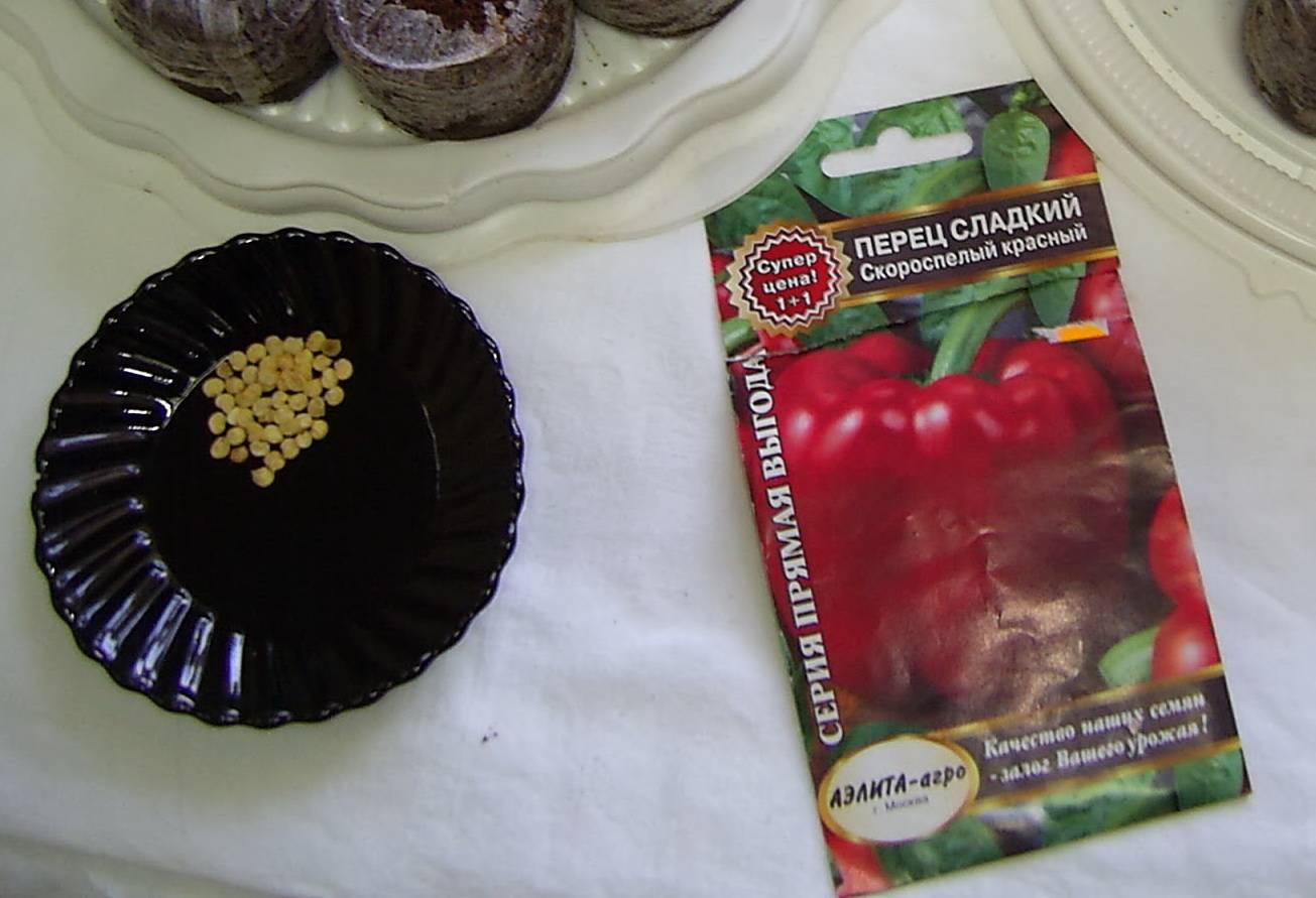 Как подготовить семена перца к посадке на рассаду?