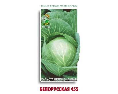 Капуста Белорусская 455, 85