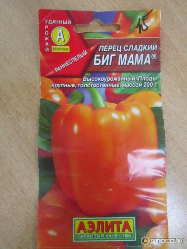 Перец биг папа: урожайность и вкусовые качества
