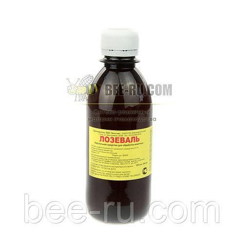 Лозеваль для пчел от вирусных заболеваний