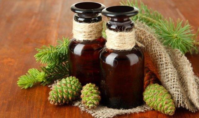Пихтовое масло: свойства и применение при беременности, от герпеса на губах, насморка, геморроя, отита, камней в почках