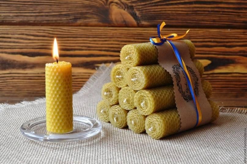 Как сделать свечи из пчелиного воска в домашних условиях?