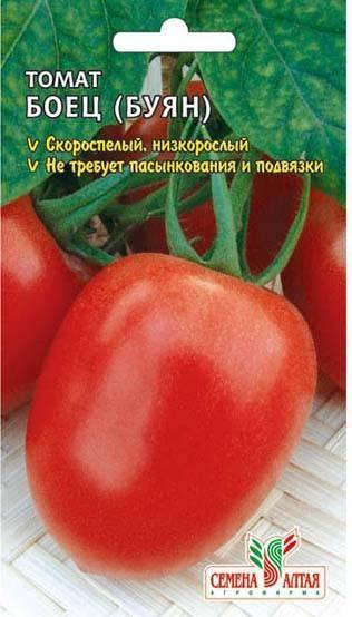 Томат боец: отзывы, фото, урожайность, характеристика и описание сорта, достоинства и недостатки