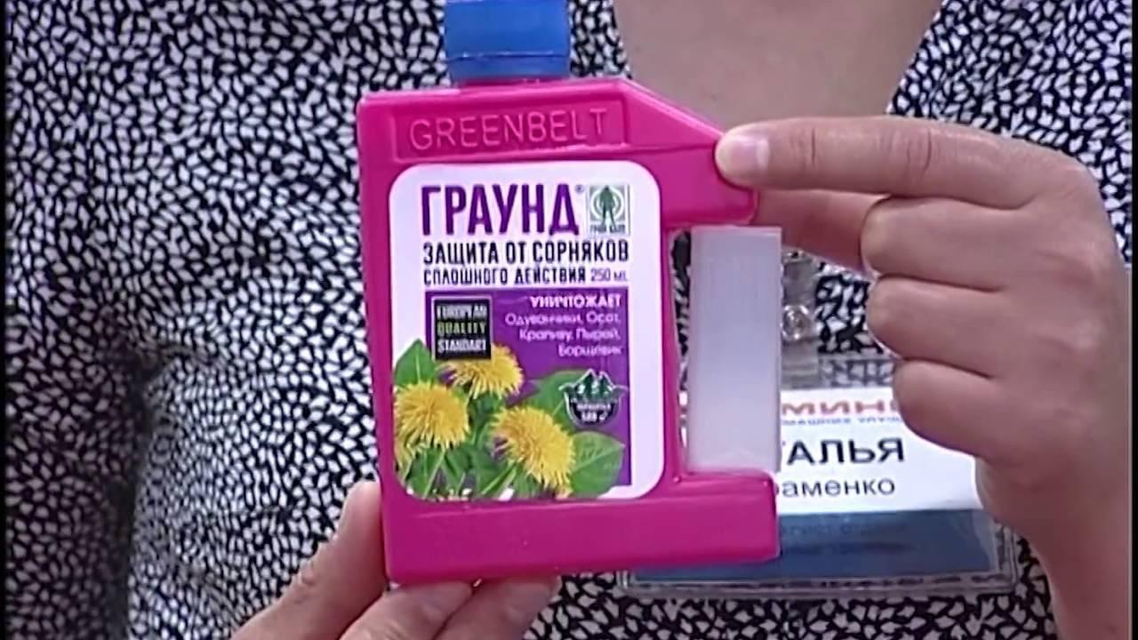 Средство граунд от сорняков - все о гербициде