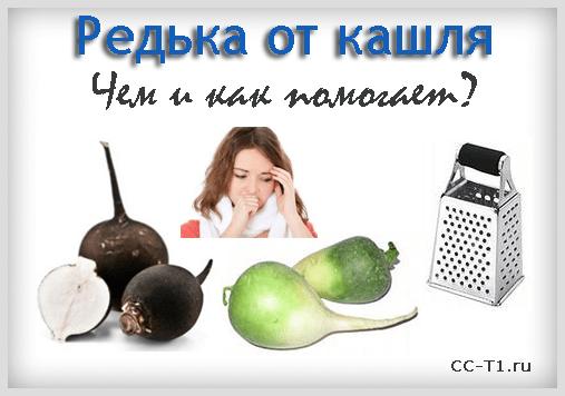 Редька с медом от кашля — приготовление и лечение