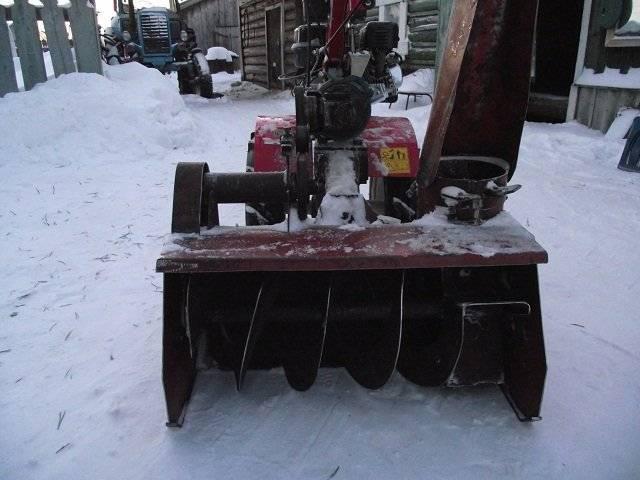 Как сделать самодельный снегоуборщик для мотоблока