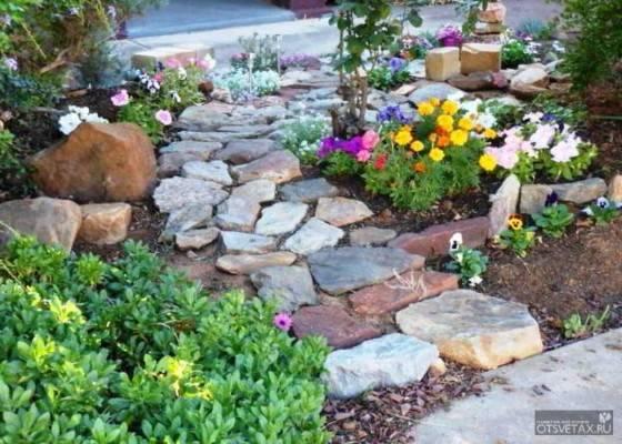 Садовые дорожки своими руками из подручных материалов с малыми затратами