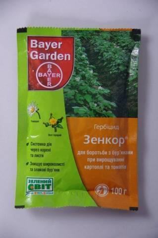 Зенкор ультра от сорняков: инструкция для картофеля