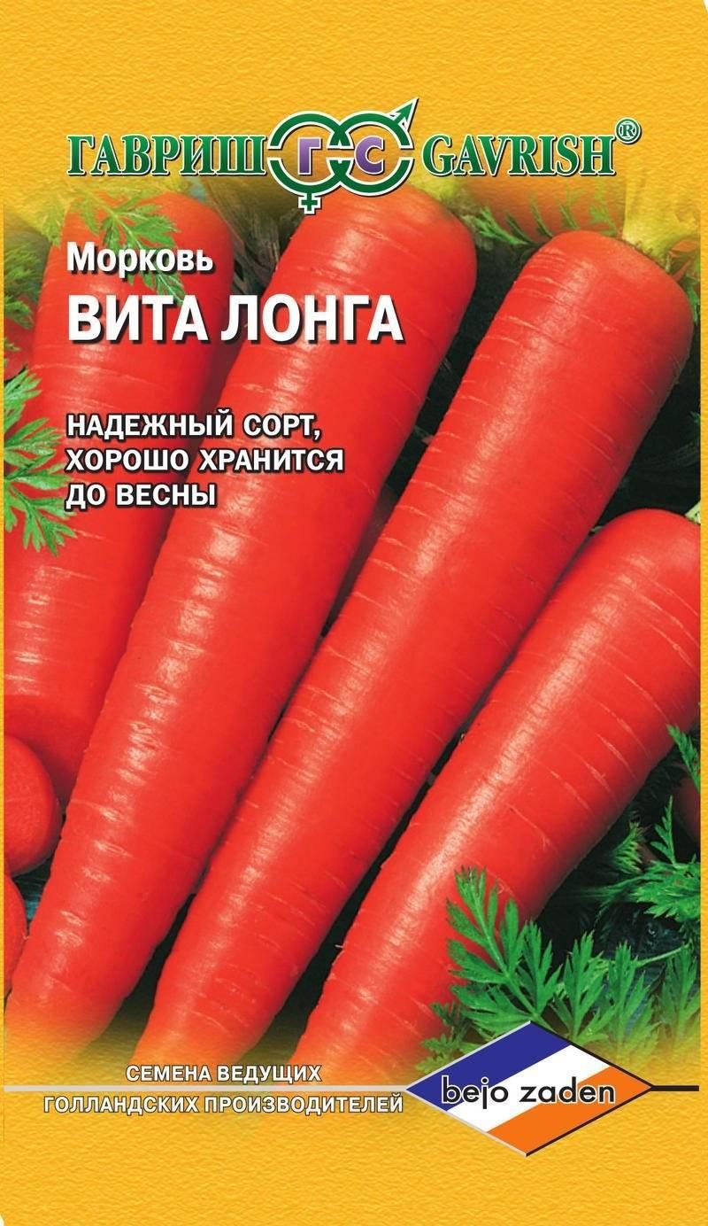 Морковь вита лонга: описание, фото, отзывы