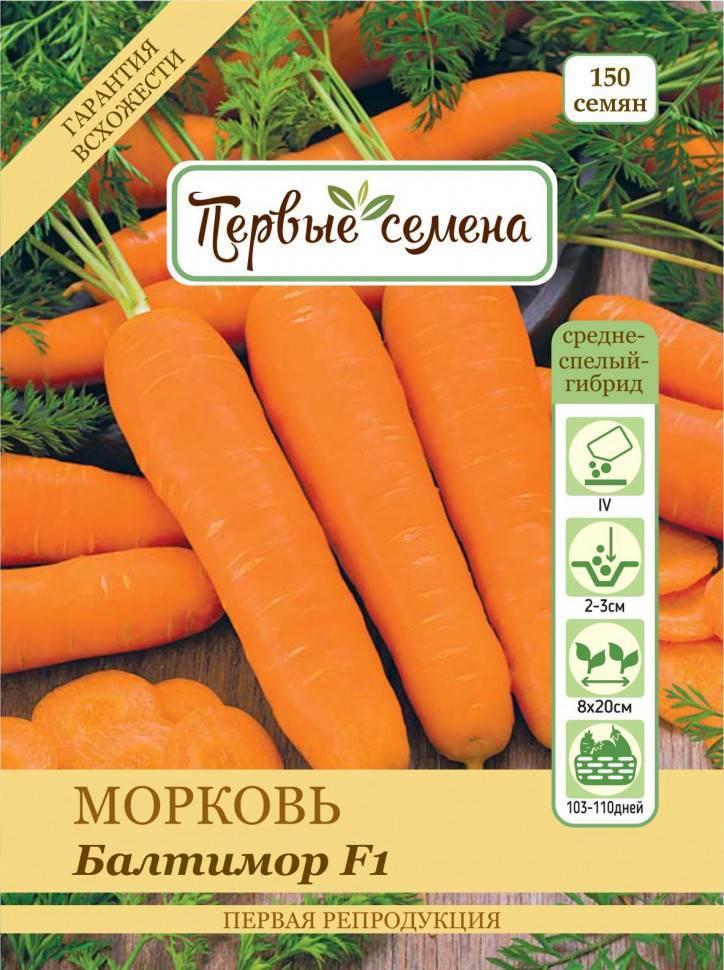 Морковь балтимор f1: характеристика и описание с фото, нюансы выращивания и сбор урожая, достоинства и недостатки, а также похожие сорта и отличие от других видов
