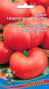 Один из самых любимых среди огородников томат «тяжеловес сибири»: стойкий, раннеспелый и высокоурожайный сорт