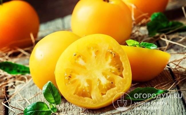 Описание томата персик