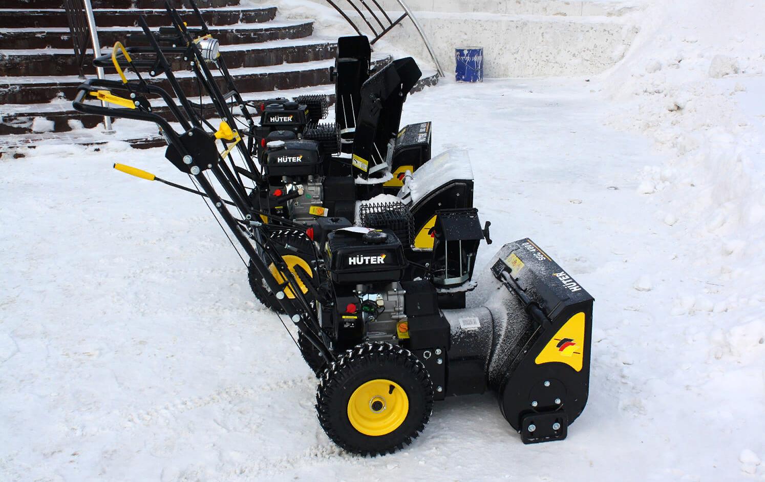 Снегоуборщик huter sgc 4000. технические характеристики и правила эксплуатации