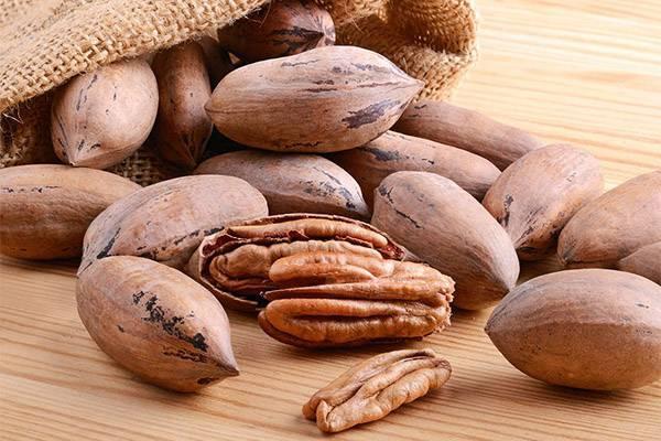 Пекан: польза и вред ореха