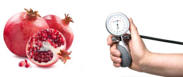 Гранаты и артериальное давление